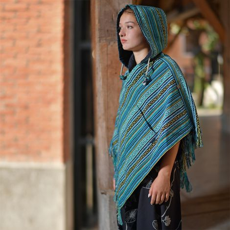 Poncho hippie Relaxed